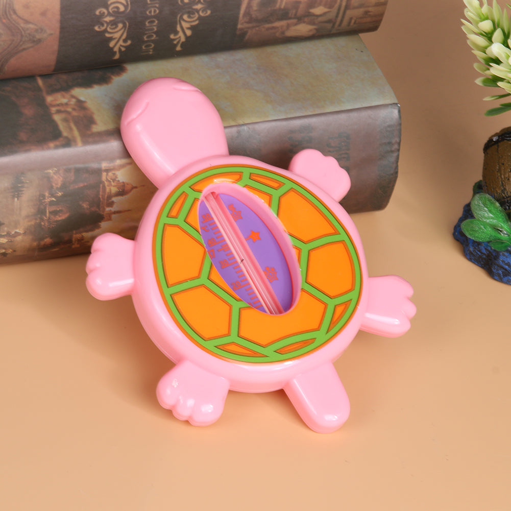 Baby Bath Thermometers Floating Lovely Turtle Shaped Plastic Tub Water
