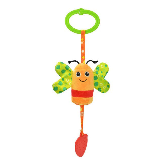 Animal Style Ratlle Baby Mobile Bed  Ringing Baby Hand Bell Toy