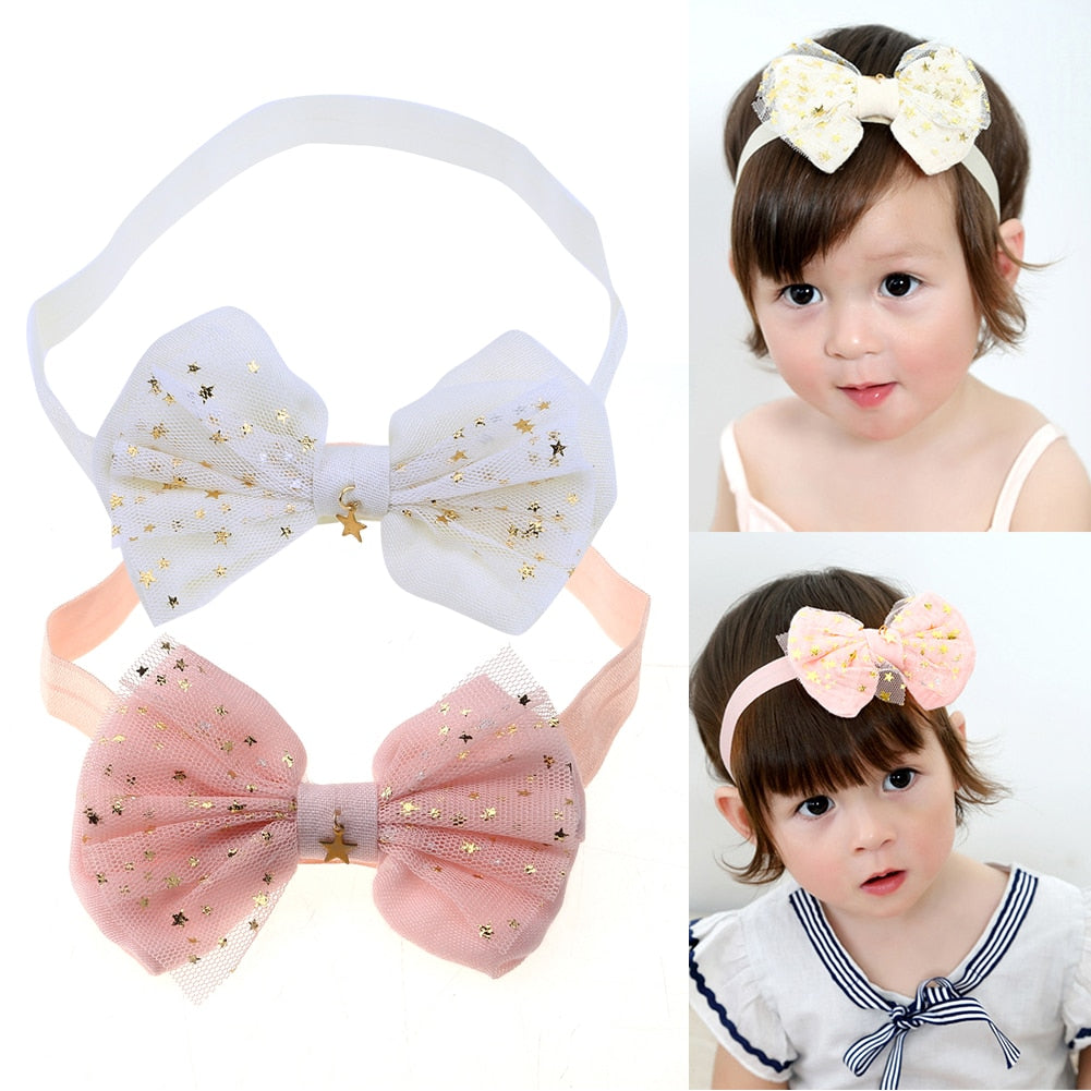 b102f4d7930 Lace Baby Flower Headband Girls Head Band Headwear Hair Bow Accessories Kid  Girls Headbands p2296