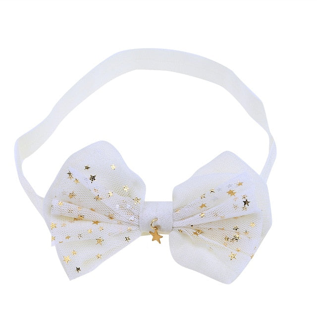 Lace Baby Flower Headband Girls Head Band Headwear Hair Bow Accessories Kid Girls Headbands  p2296WhiteBuy mate