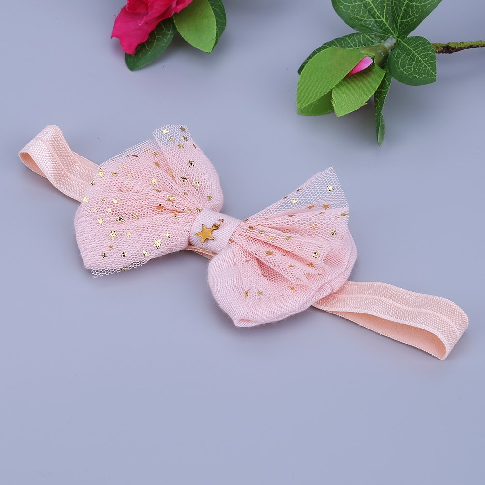 Lace Baby Flower Headband Girls Head Band Headwear Hair Bow Accessories Kid Girls Headbands  p2296Buy mate