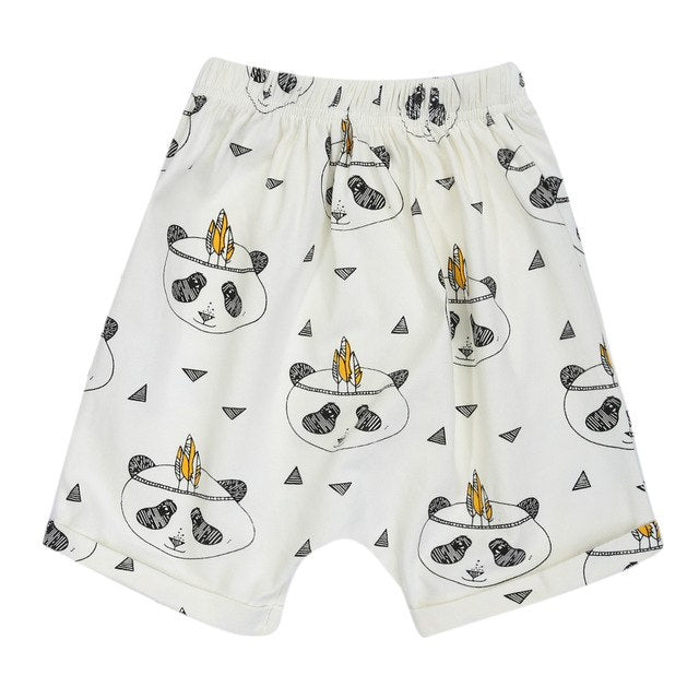 Children Shorts Boys Lovely Cute Panda Printed Kids Summer Cotton Fashion Short Pants p2557A / 4TBuy mate