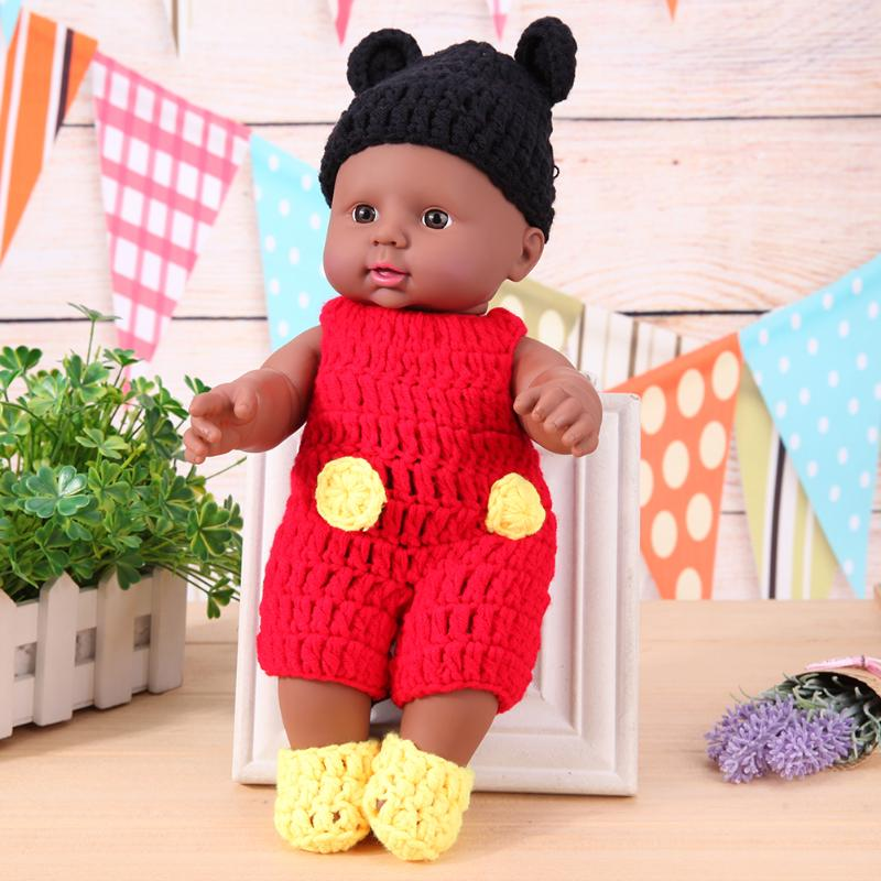 Fashion Dolls Jump Suits With Hat For 30cm Doll Sweater Handmade