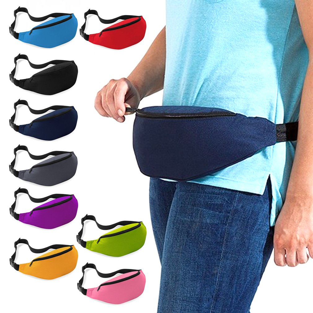 9 color Outdoor Sports Running Jogging Waist Bag Waterproof Phone