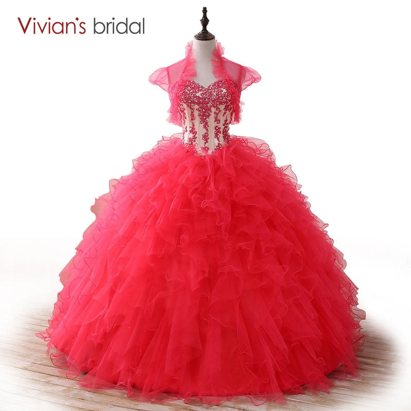 Ball Gown Quinceanera Dresses Lace Sequin Sweetheart Sleeveless Sweet 16 Dresses vestidos de 15 anosP3214Buy mate