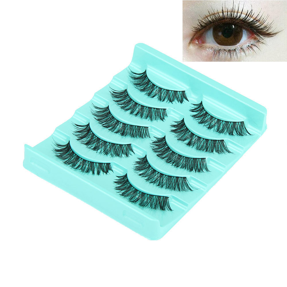 5 Pair/Lot Crisscross False Eyelashes Lashes Voluminous Hot Eye Lashes p3413