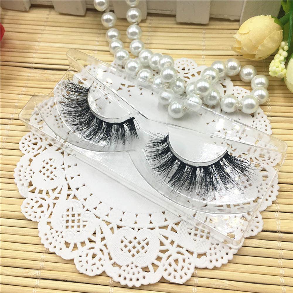 3D Natural Multi Layer Thick Cross Eye Lashes False Eyelashes A02 p3289