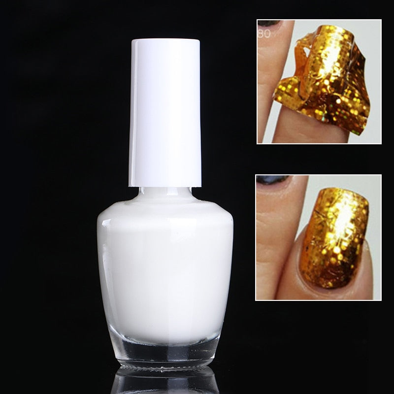 Adhesive Glue Star Glue For Nail Foils Transfer PaperManicure Nail Art