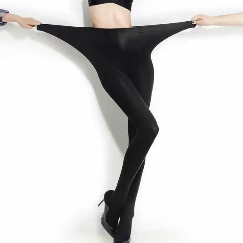 New Women Seamless Sexy Black Thin Pantyhose Ladies Tights