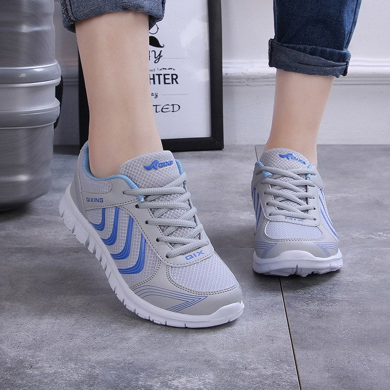Breathable Women Tenis Feminino Basic Ladies Vulcanize Shoes