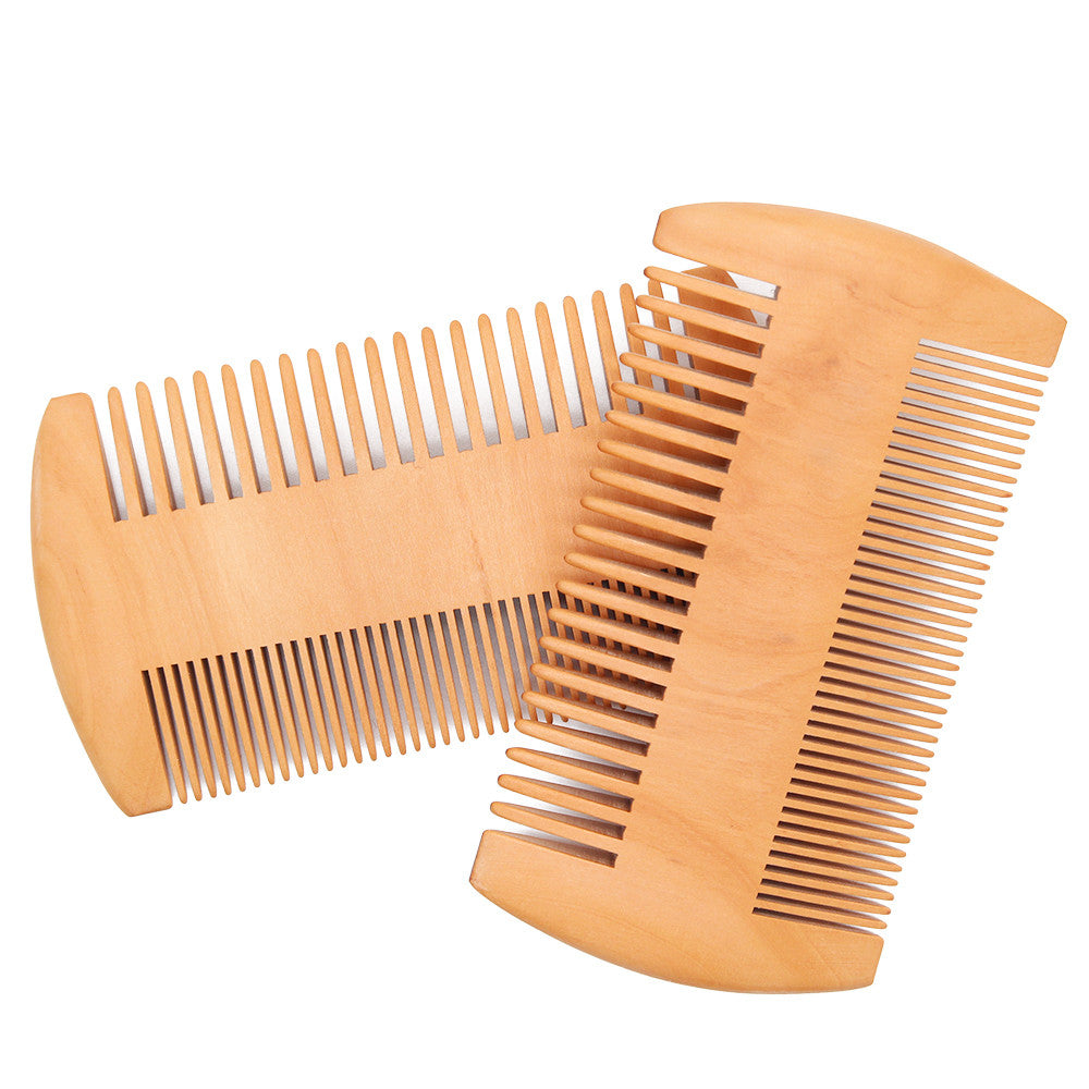 High Quality Beard Grooming Kit Natural Boar Bristle Beard Brush and Wooden Handmade Comb for Male p3028Buy mate