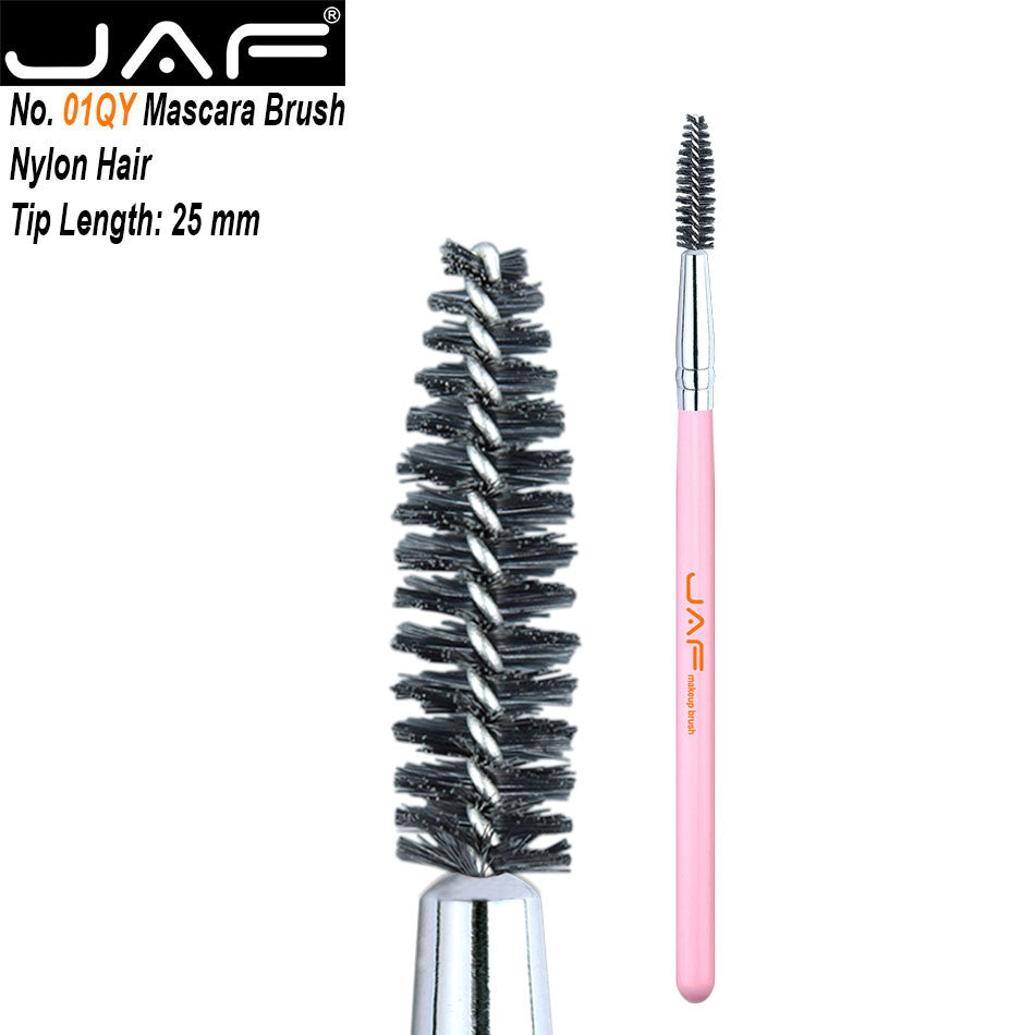 New Multifunction 1Pc Beauty Spiral Eyelash Mascara Eyebrow Brush Pen Cosmetic Tool Makeup Brush 01QY p3043PinkBuy mate