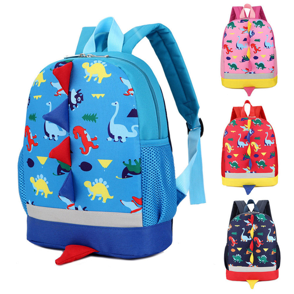 Baby Boys Girls Kids Dinosaur Pattern Animals Backpack Toddler School Bag p2650