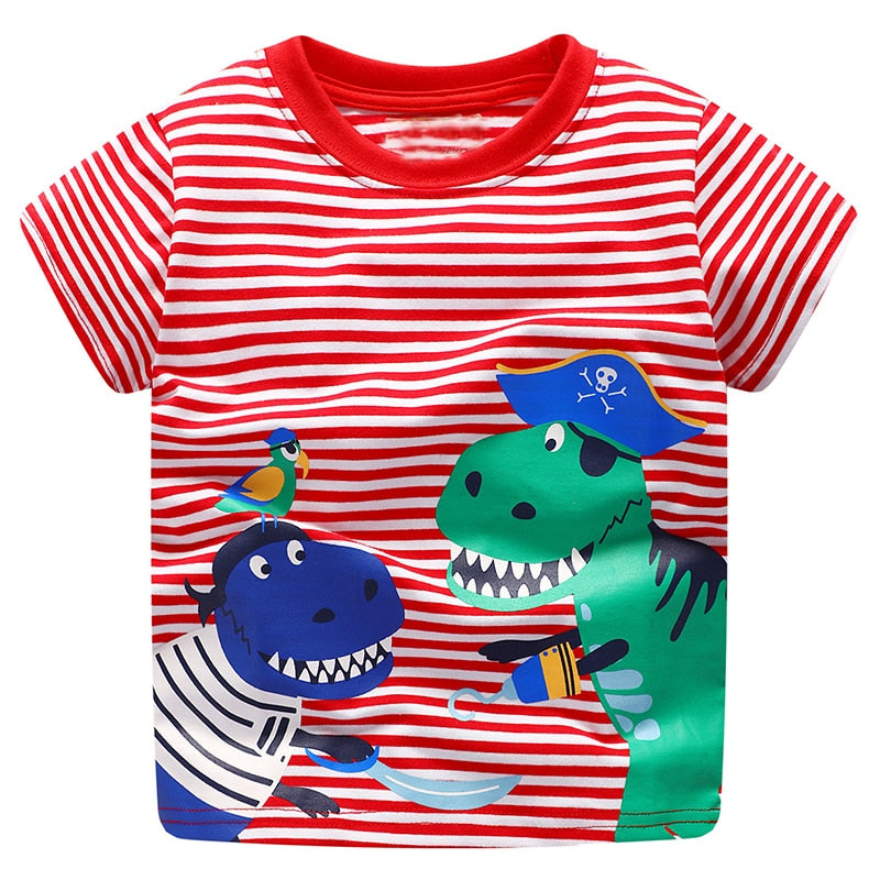 Baby Boys Tops Children T shirts 2018 Brand Summer T-shirts Kids Clothes Boys p2669Buy mate