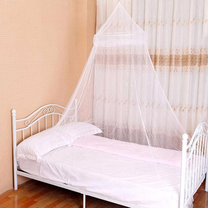 Summer Newborn Baby Bedroom Hanging Bedding Round Dome Canopy