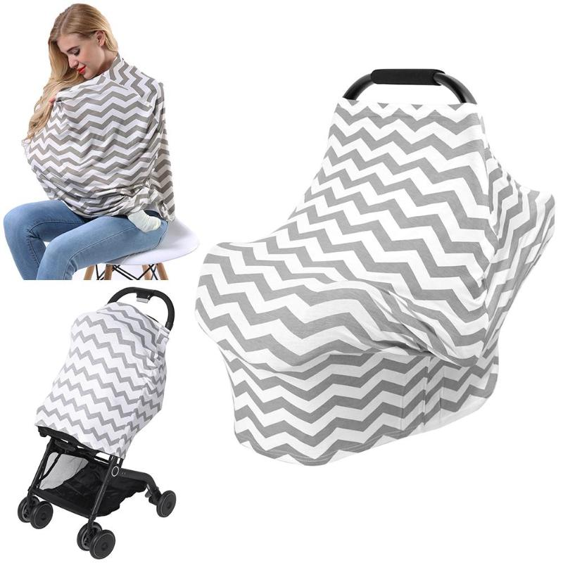 Multi-functional Elastic Outdoor Mother Feeding  Nursing Covers