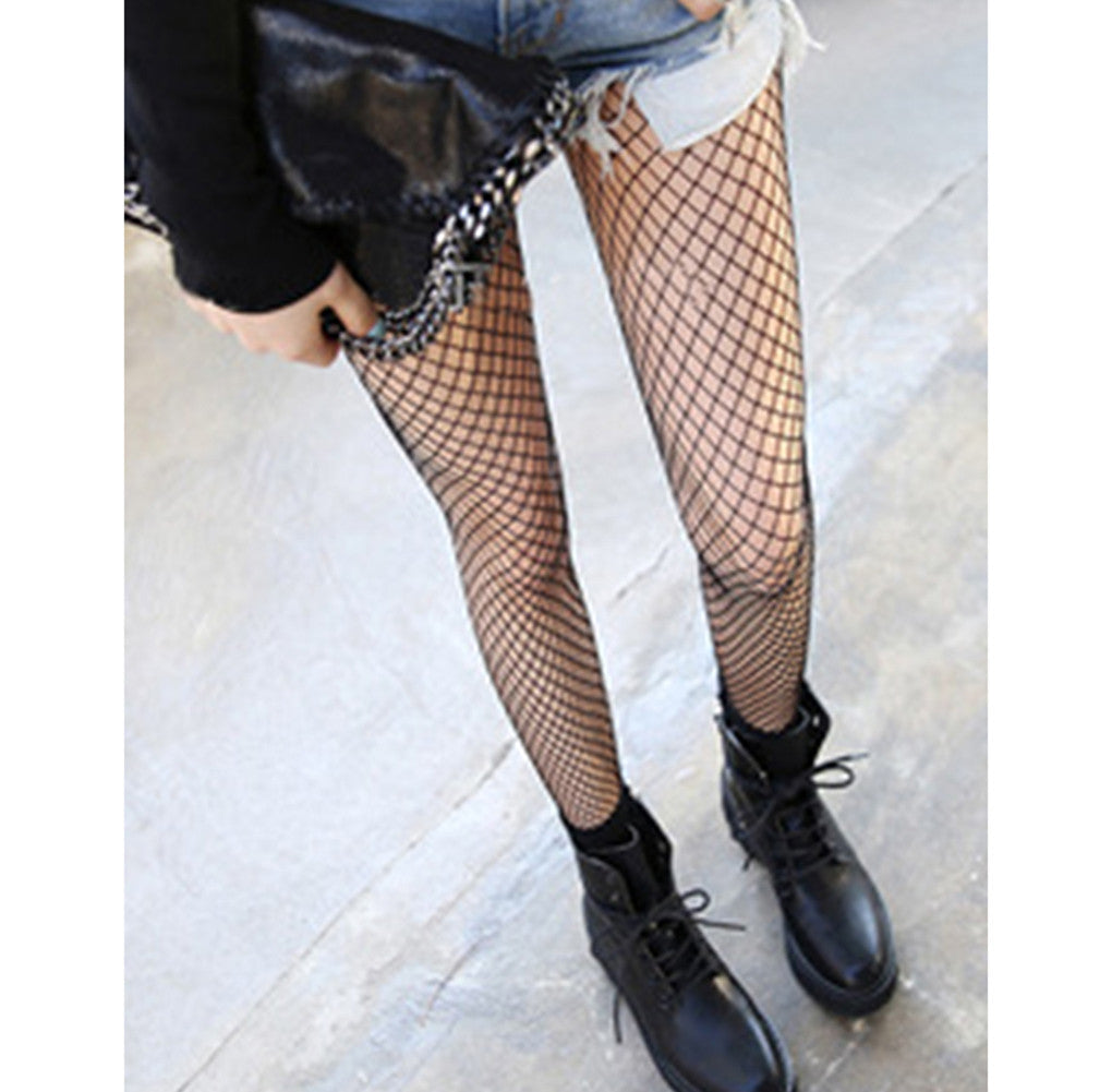 Women's Hollow Fishnet Pantyhose Nylon Elastic  Seamless Sexy Tights Stockings p1703Buy mate