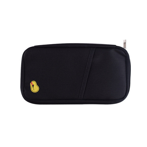 Zipped Travel Wallet - Assorted Colors p2521