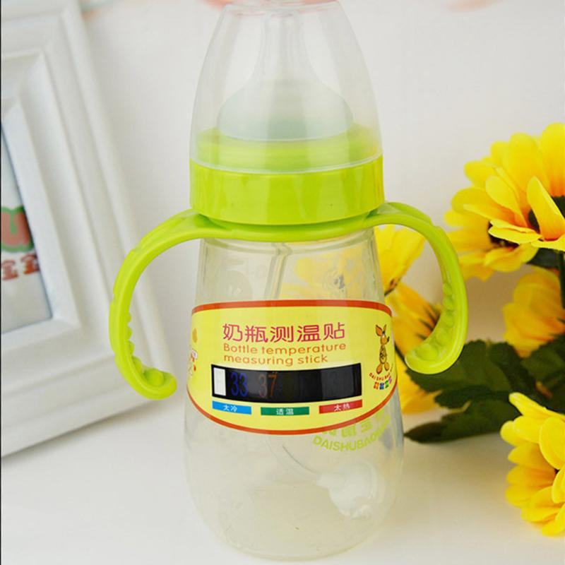 Infant Baby Milk Bottle Temperature Measuring Sticker Reusable