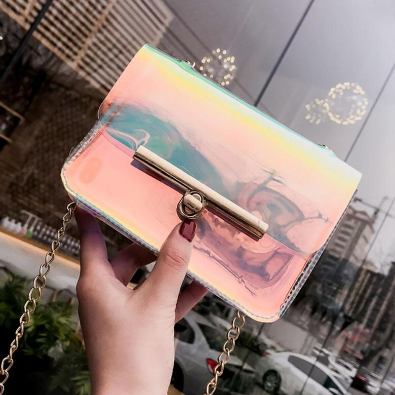 Handbag Women Clear Handbags Small Plastic Crossbody Bags