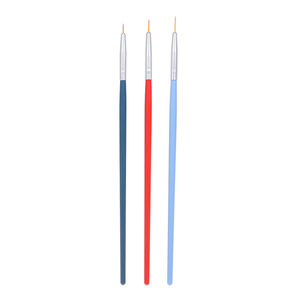 Brush UV Gel Painting Nail Brush Pen Set For Manicure Nail Liner Tool