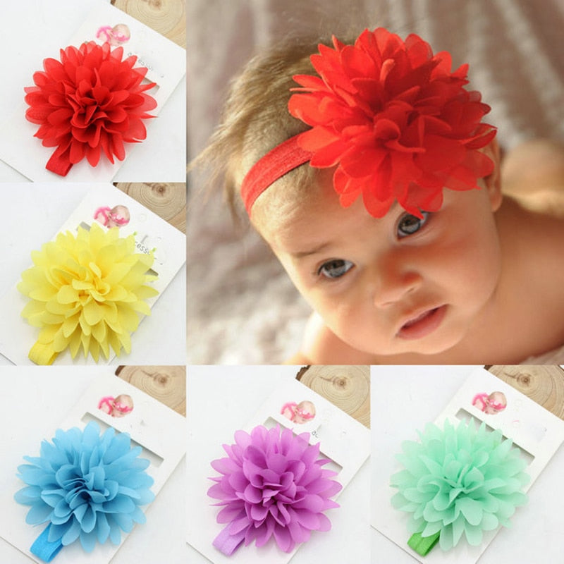 Hot Sale Baby Girl Elastic Hairband Children Hair Wear For Kids