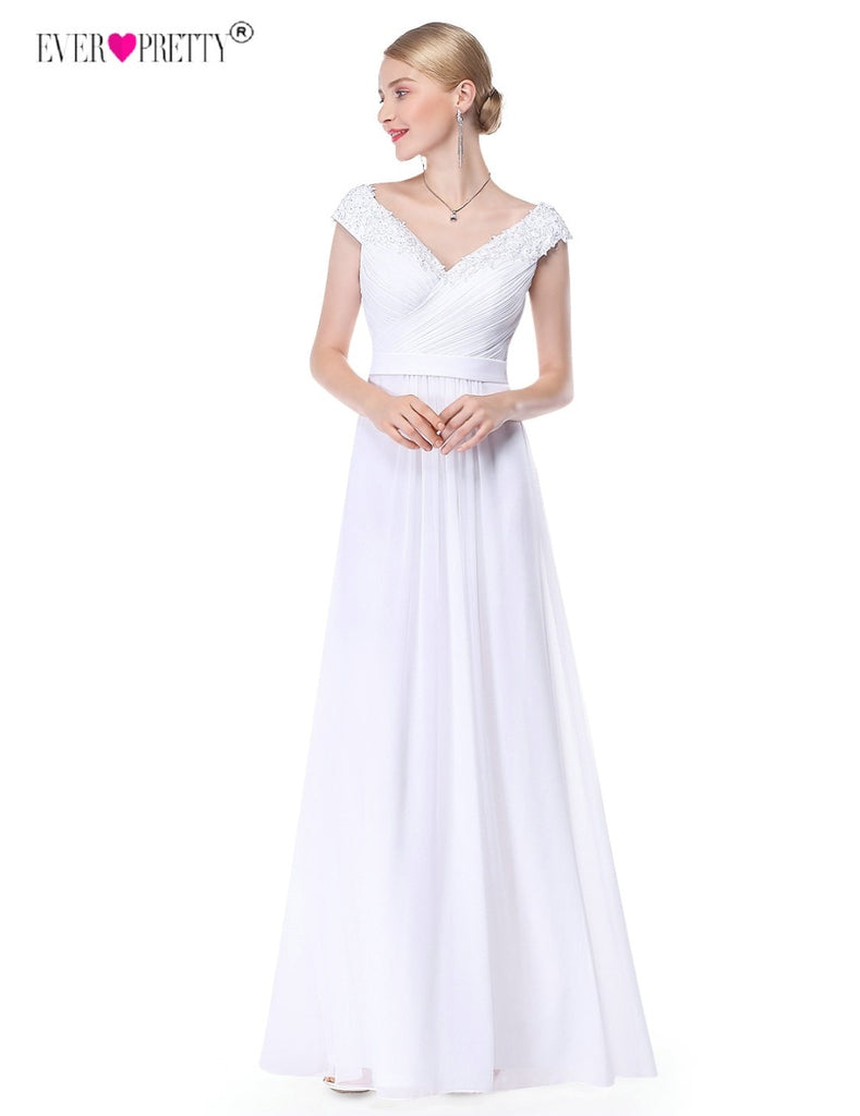 Lace Romatic Bohemian Wedding Dresses Backless Bridal Dress With Cap Sleeves robe de mariage 2018 vestido de noiva p3079