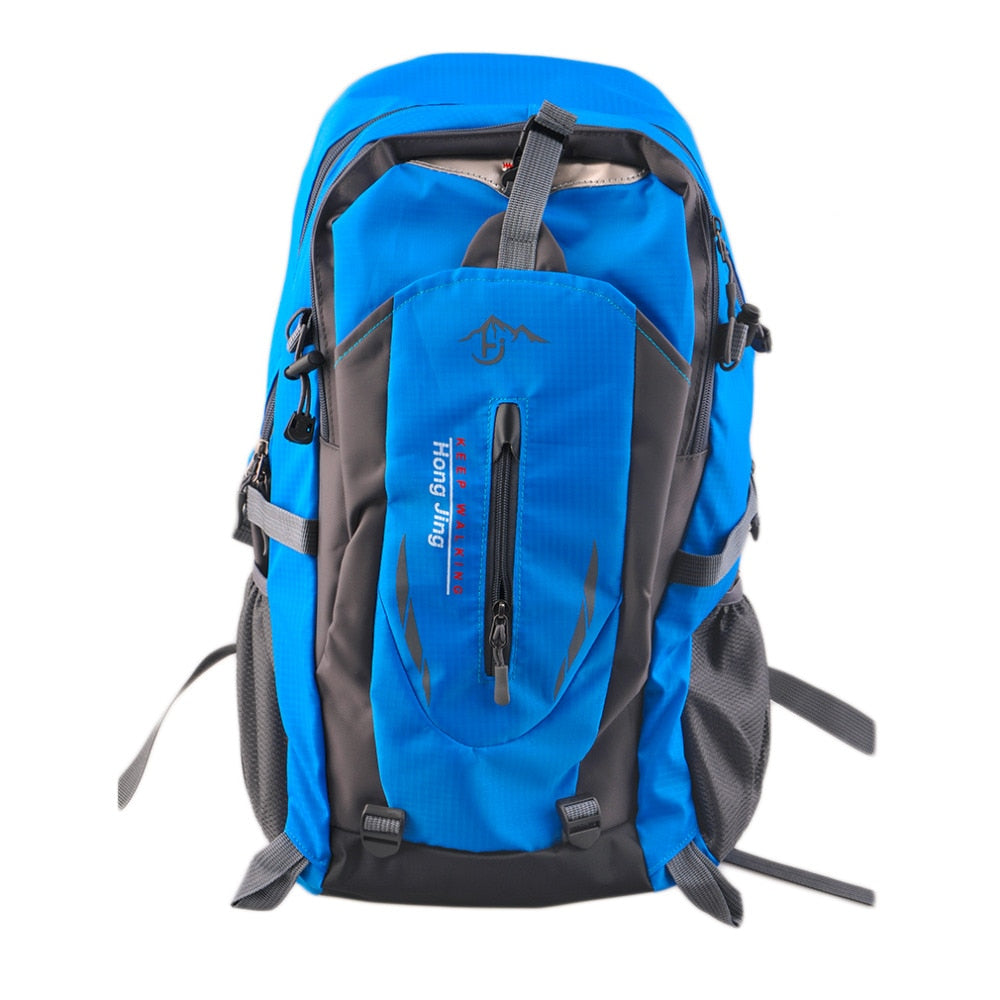 40L Outdoor Mountaineering Bags Water Repellent Nylon Shoulder Bag Men And Women p2709