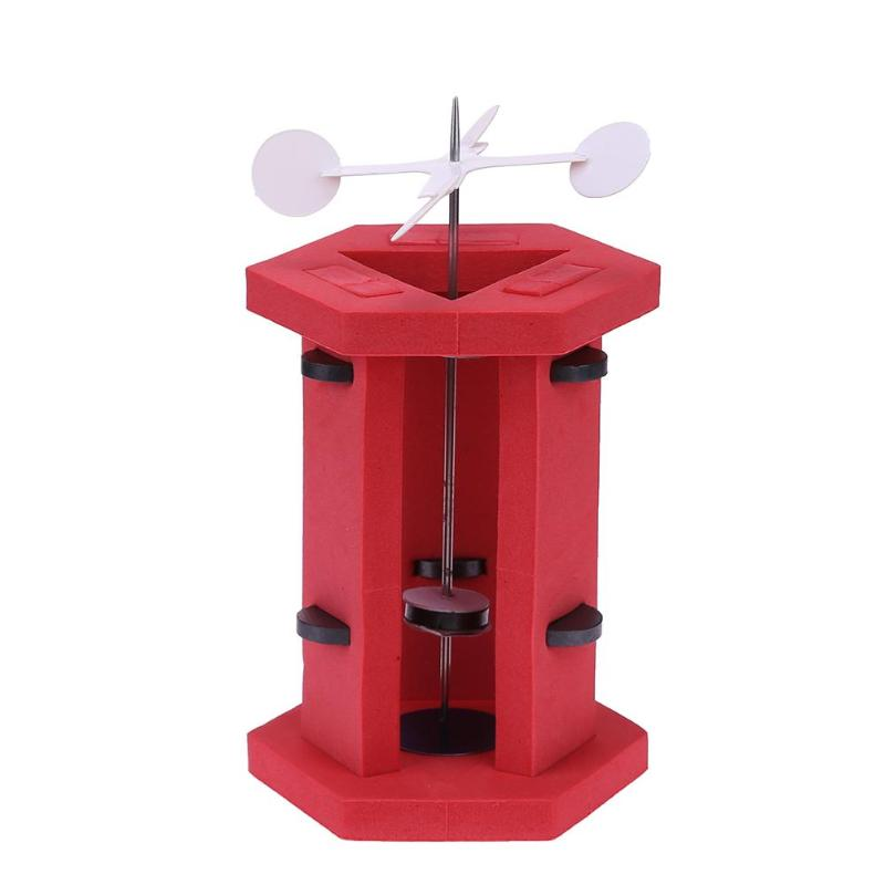 Kids Magnet Suspension Perpetual Motion Device Handmade DIY Model Building p2754