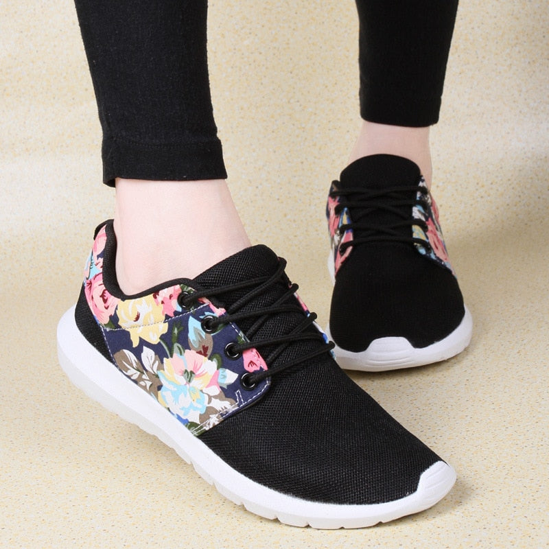 Women Sneakers  Tenis Feminino Women Air Mesh Breathable