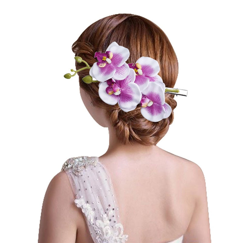 Amazing Bohemia Flower Hair Clip for Womens Hairpin Bridal Party p3683Buy mate