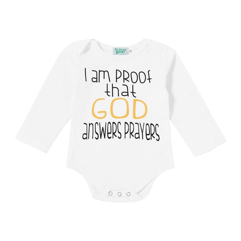 Newborn Baby Clothes Unisex Baby Bodysuits Printed Child Boys Girls Clothing Long Sleeve p2675Buy mate