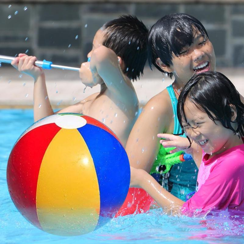 Multicolored Children Bath Toy Ball Kid Summer Beach Shower Swimmingv