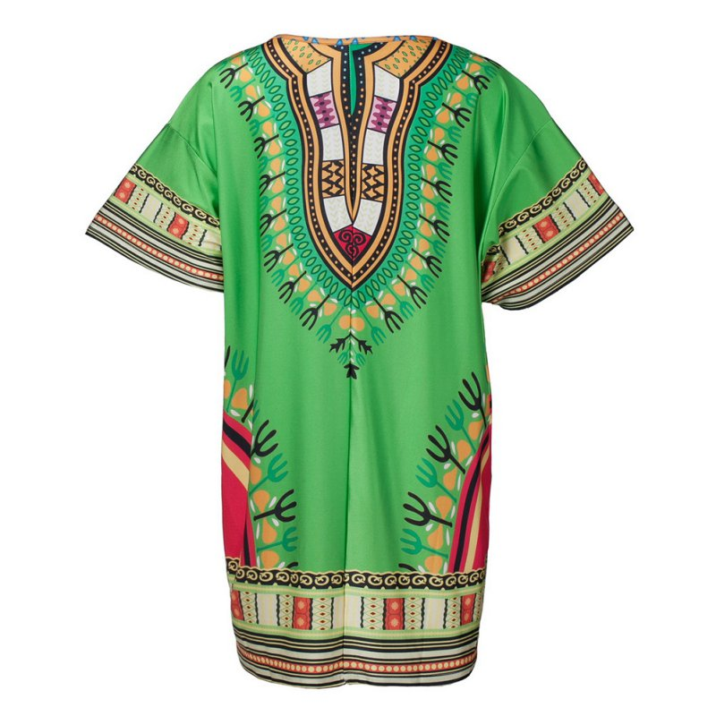 Ethnic Dress Women Africa Dashiki Shirt Kaftan Boho Hippie Gypsy Festival Tops p0520Buy mate