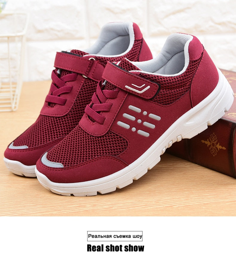 Women's shoes  Breathable  Non-slip Ladies Sneakers