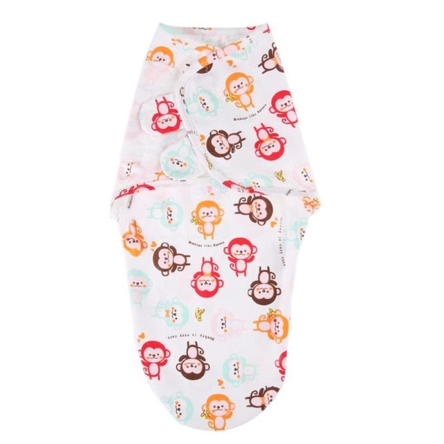 Newborn Baby Soft Sleeping Bag Cute Cartoon Envelope Sleep Bag