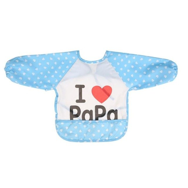 Baby Bibs Burp Cloth Newborn Feeding Clothes Waterproof Overal