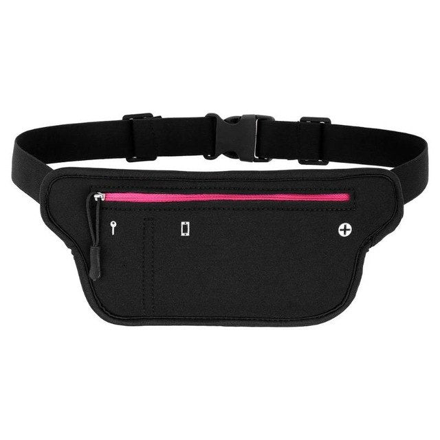 Waterproof Small Casual Sports Riding Zipper Waist Pack for