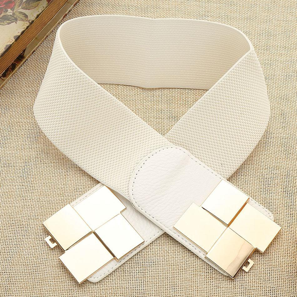 Waistband Elastic Lady's Waist Korean Style Type Wide Stretch Elegant Belt New Fashion p3839Buy mate