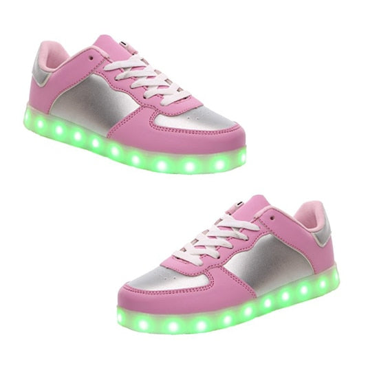 Sport Shoes Sneakers USB Charging for Valentine's Day valentine