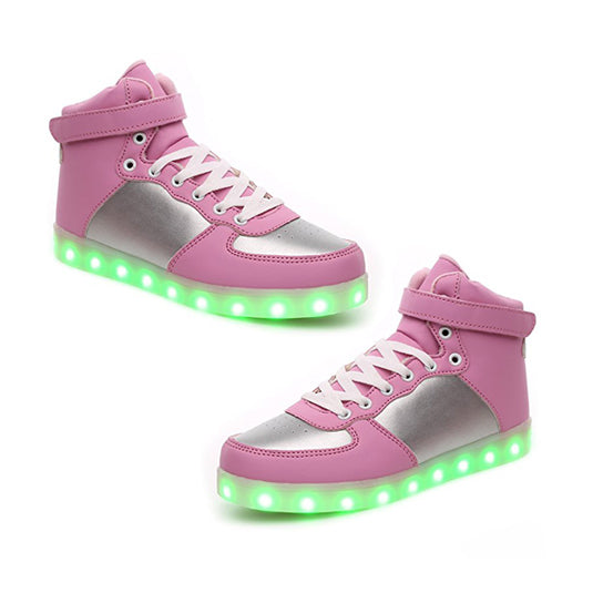 Sport Shoes Sneakers USB Charging hristmas Halloween High-to