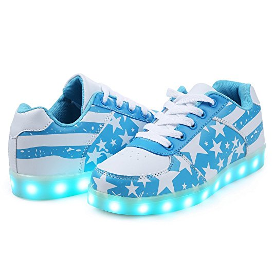 Sport Shoes Sneakers USB Charging for Valentine's Dayvalentine