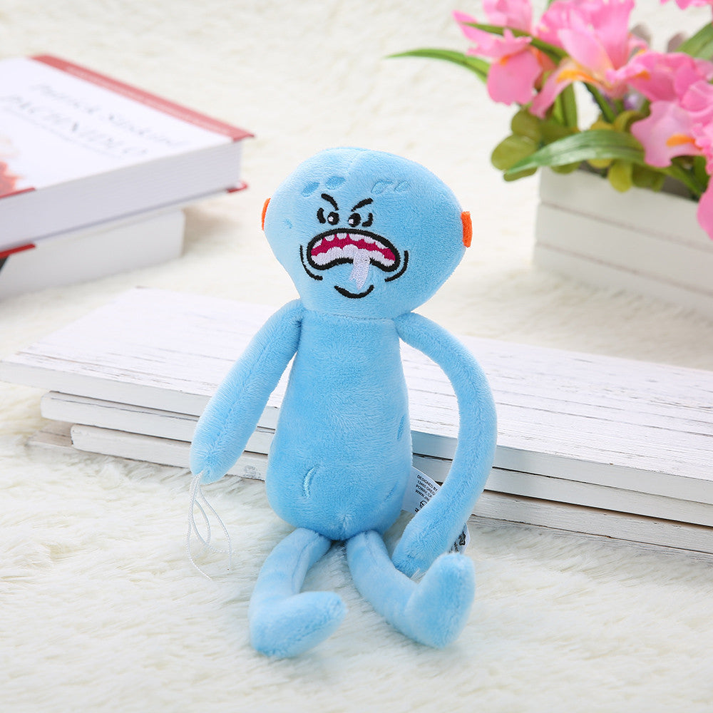 Cute Cartoon Rick Plush Doll Morty Toy Kids Stuffed Toy Accessories