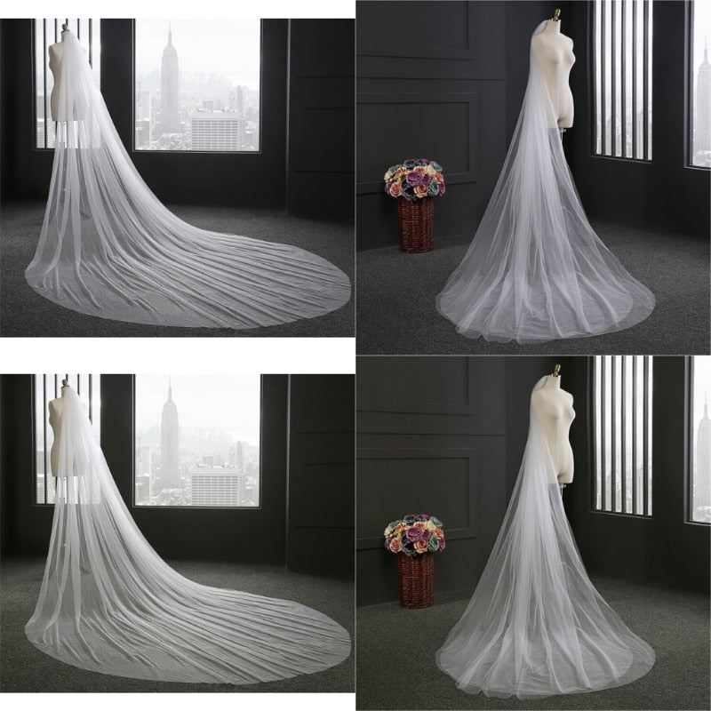 3M Elegant wedding veils bride 1 And 2 layers Bridal Wedding veil Accessories P3206Buy mate