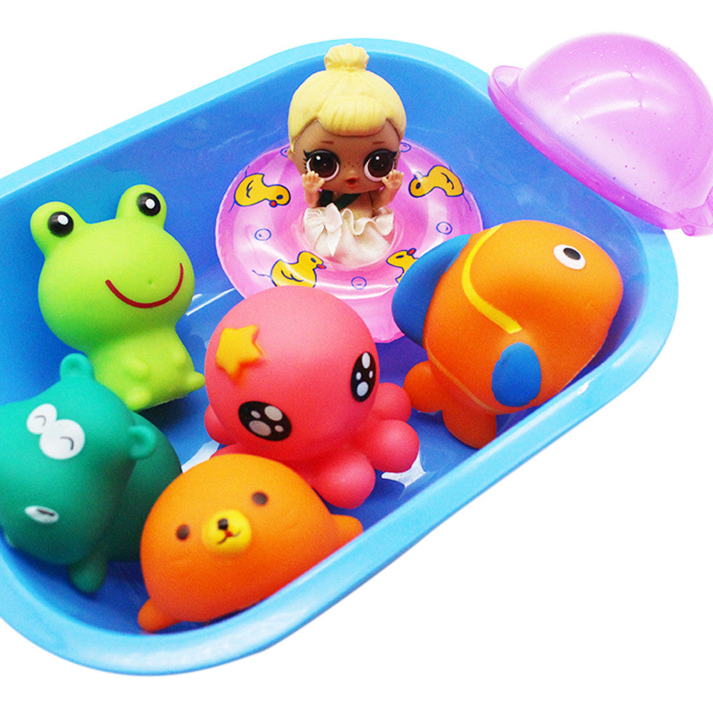Baby Doll Shower Accessories Swimming Circle Toy Games Kit p2806Default TitleBuy mate
