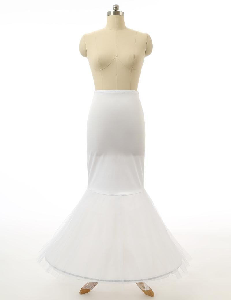 Hot Sale Wholesale White Petticoat Underskirt For Wedding Dress