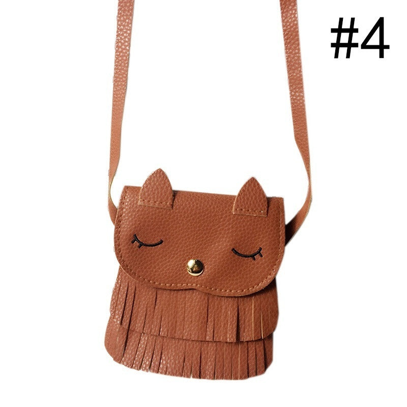 Style Children Kids Girls Tassel Handbag Baby Women Shoulder Messenger Bags p2647