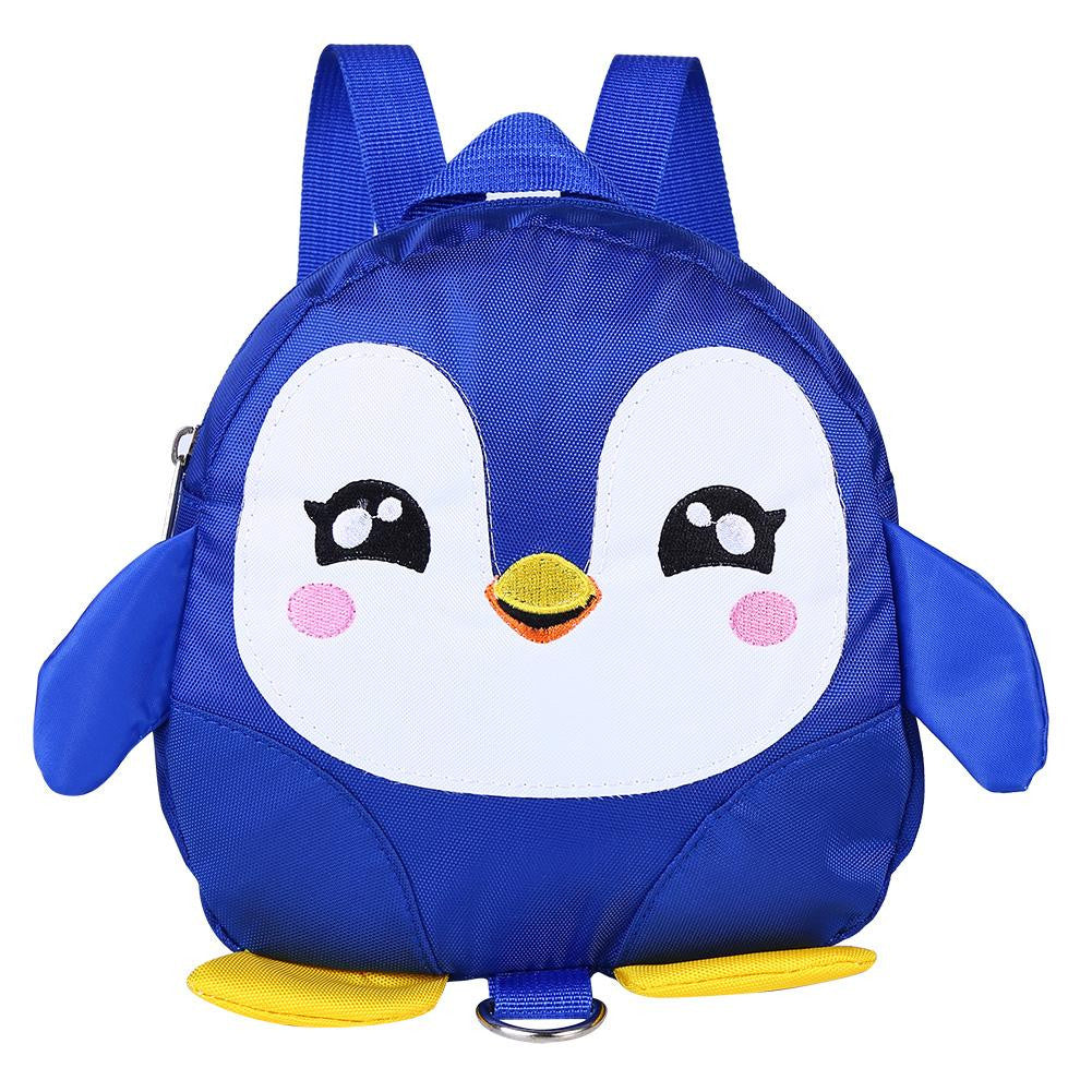 Cute Cartoon Penguin Baby Safety Harness Backpack Toddler Anti-lost Bag Children Schoolbag p2645