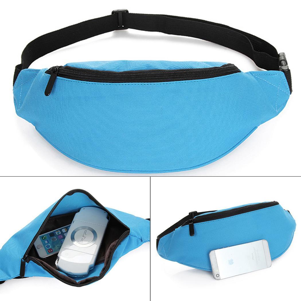 Unisex Pack Hot Sports Cycling Bag Fanny Chest Pouch Jogging