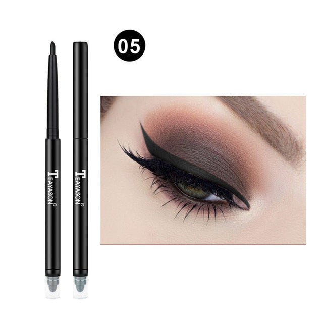 Colorful Matte Eyeliner Eye Pencil Makeup Crayon White Black Eye Liner Eyeshadow p32225Buy mate